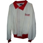 Cotton Shell Jacket – Red Trim